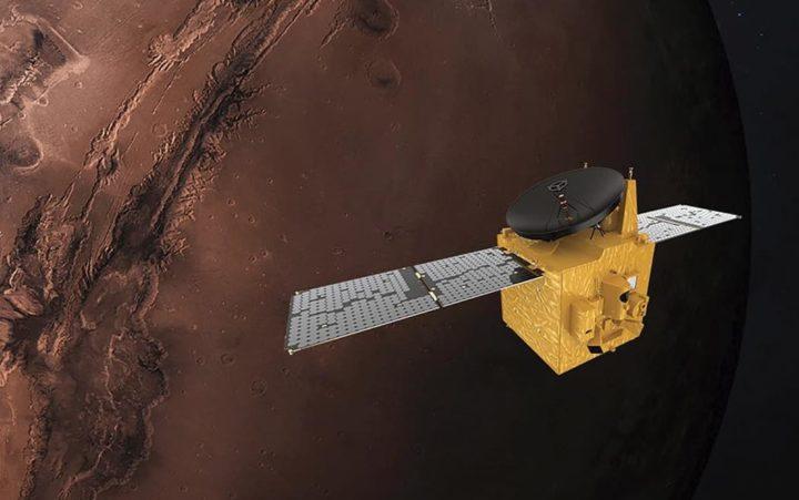Sonda Al Amal: Emirados Árabes Unidos partilham foto de Marte
