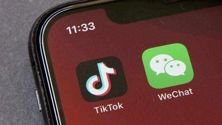 TikTok e WeChat