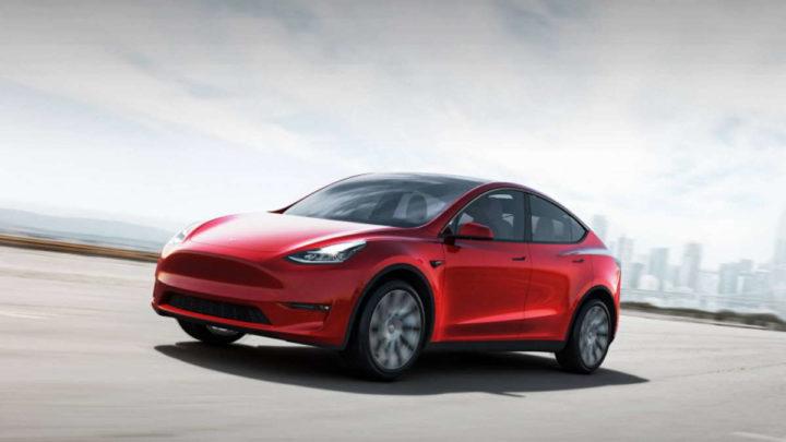 Model Y Tesla Standard Range modelo vendas