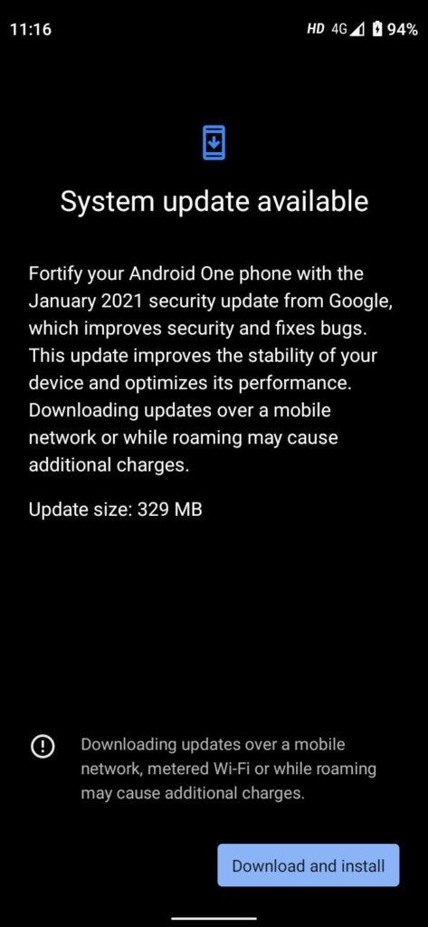 Android 11 Mi A3 Xiaomi atualização problemas