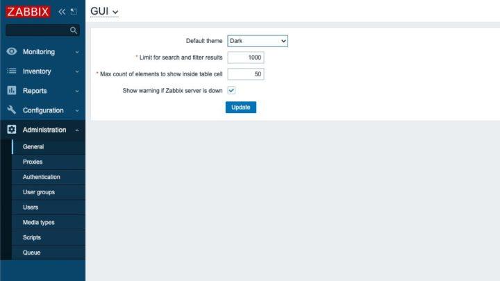 Zabbix: Vamos conhecer melhor a interface da plataforma (2)