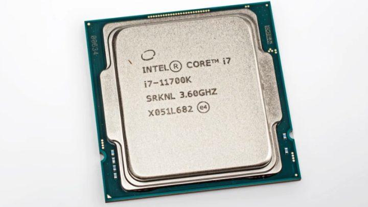 Imagem processador da Intel