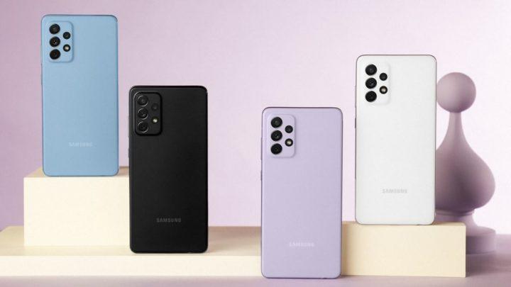 Samsung renova a família Galaxy A. Conheça os novos Galaxy A52, A52 5G e A72