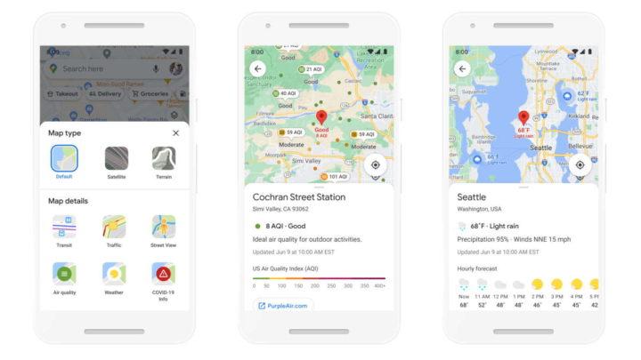 Google Mapas IA informações funcionalidades