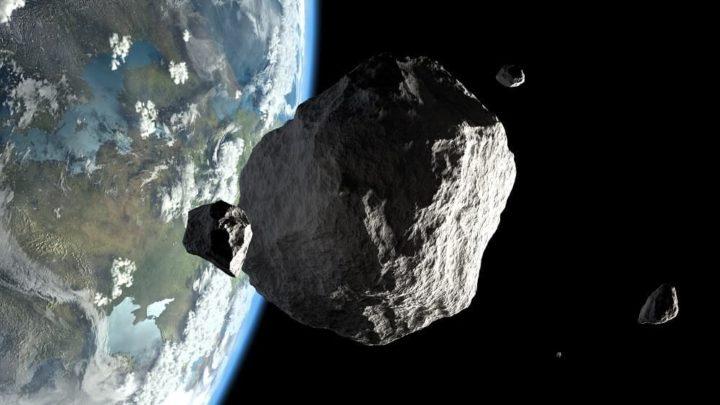 """Asteroide """"potencialmente perigoso"""" passou pela Terra a 124 mil km/h"""