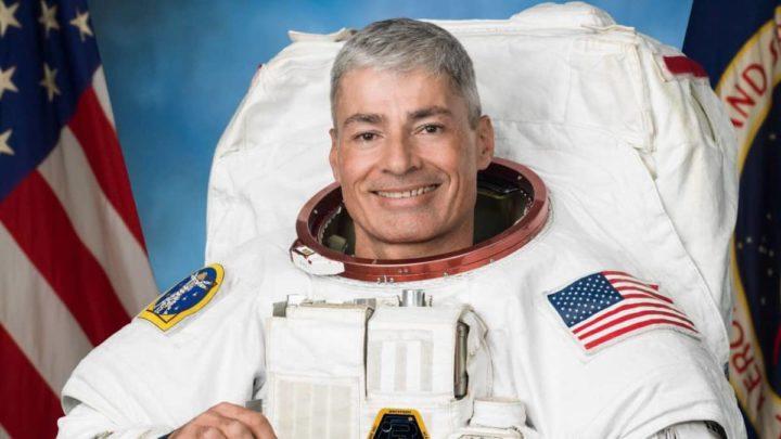 El astronauta Mark Vandey de la NASA.