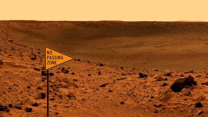 Marte interdito