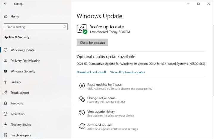 Problema de actualización de emergencia de Microsoft Windows 10