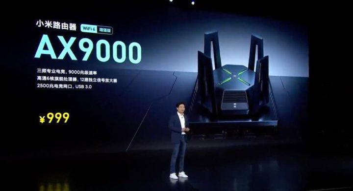 Mi AX9000: O router Wi-Fi mais poderoso da Xiaomi já com Wi-Fi 6