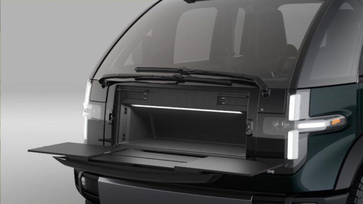 Imagem da Canoo, uma pick-up elétrica