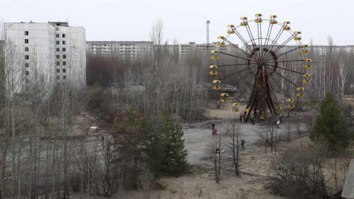 Imagem de Pripyat, a cidade fantasma ao lado de Chernobyl