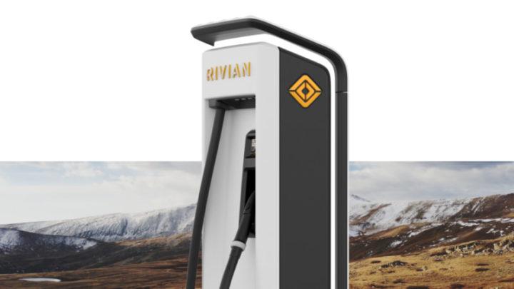 Estação de carregamento da Rivian