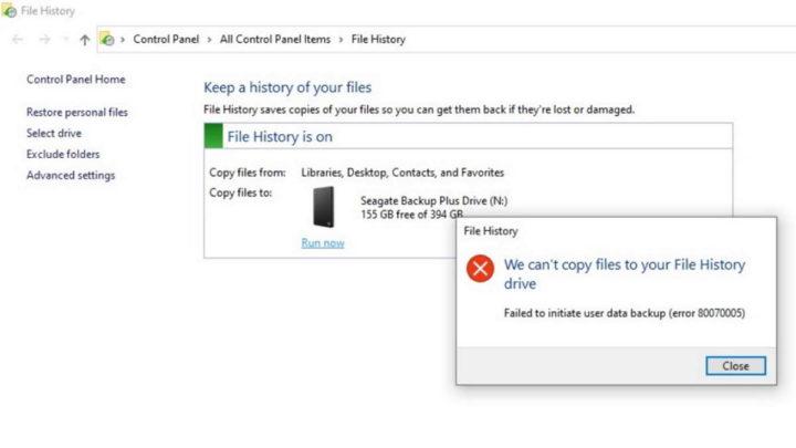 Windows 10 atualização Microsoft Histórico Ficheiros