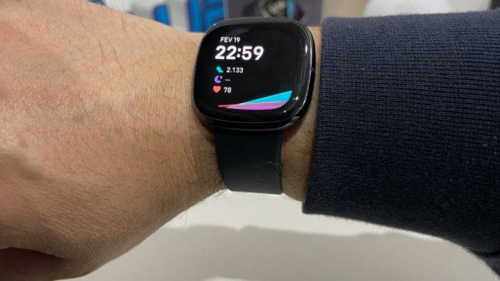 Imagem smartwatch Fitbit