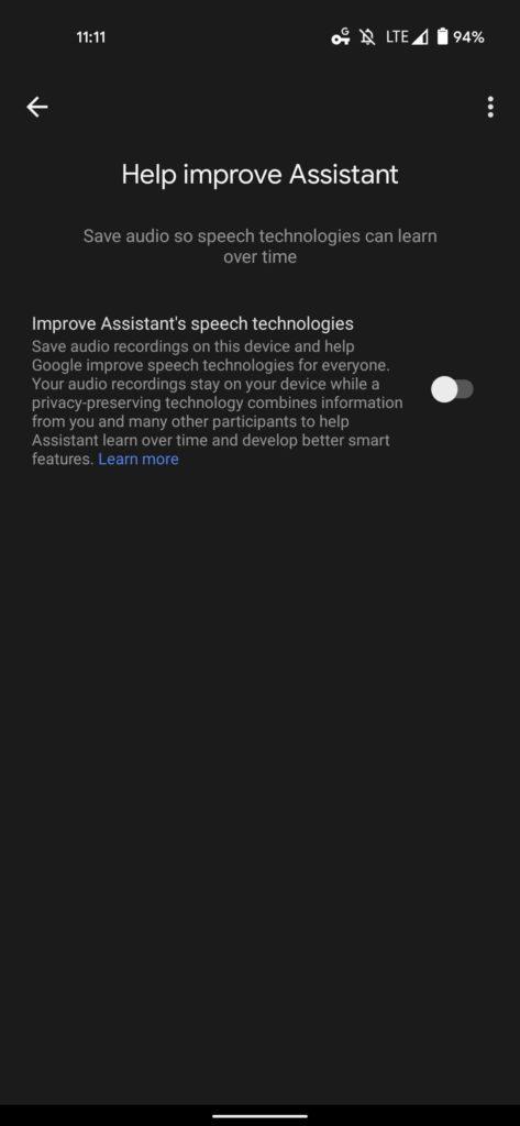 Google assistente aprendizagem federação eficiente