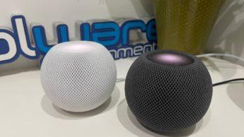 Imagem Apple HomePod mini com sensor de temperatura e humidade