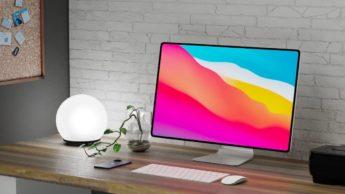 Imagem i;ac concept 2021 com Apple Silicon