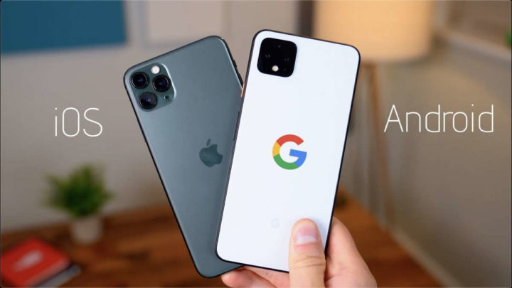 iPhone Android dados recolha smartphones