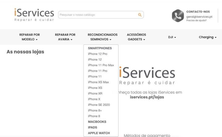 iServices já vende iPhones 12 recondicionados