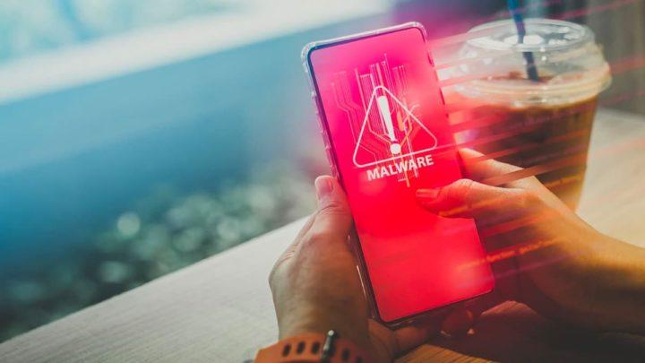 Ilustração de aplicações de malware no android