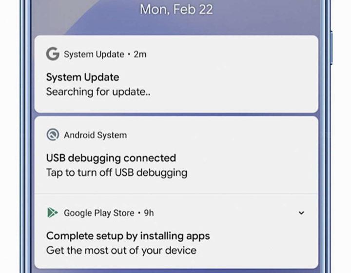 Android malware smartphone atualização app