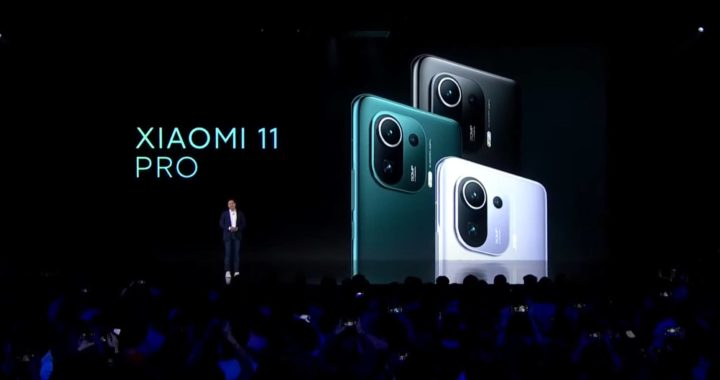 Xiaomi Mi 11 Pro acaba de ser apresentado com novas cores