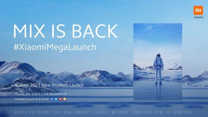 XiaomiMegaLaunch - Venha descobrir o novo Mi MIX, a Mi Band 6 e muito mais