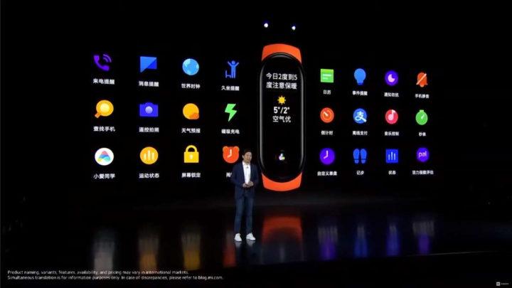 Xiaomi Mi Band 6 smartband