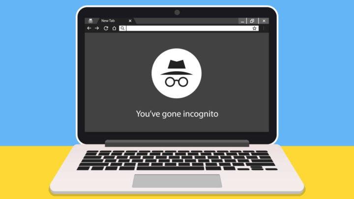 Google Chrome modo anónimo incógnito