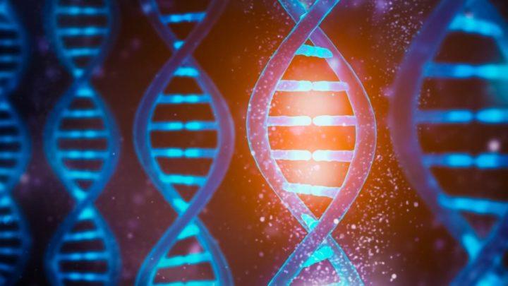 Ilustração de Inteligência Artificial para análises ao genoma humano