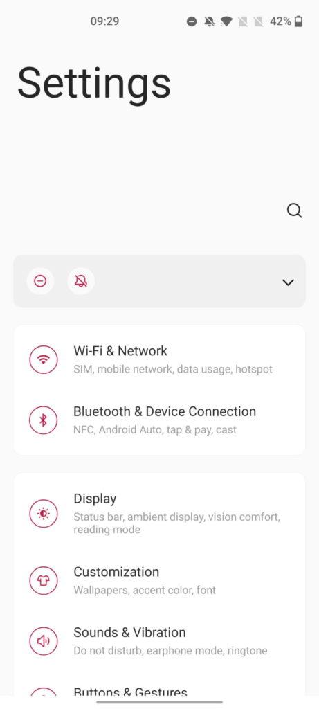 OnePlus Nord OxygenOS 11 Android 11 atualização