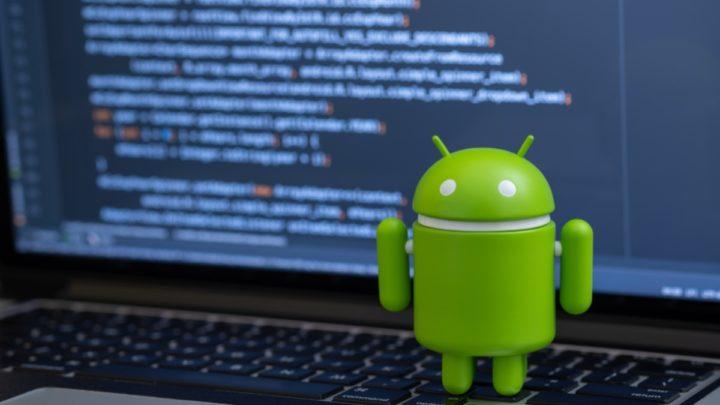 Ilustração programador Android