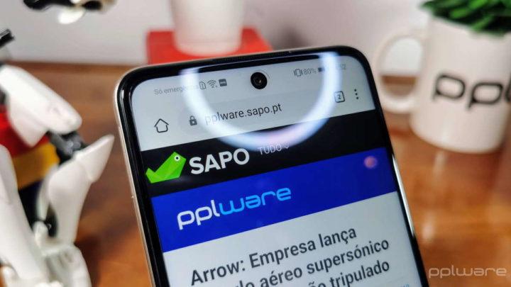 Huawei P Smart 2021 câmaras ecrã smartphone