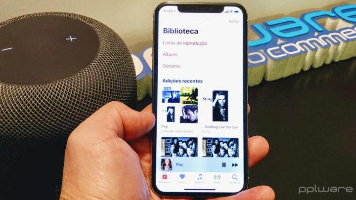Apple iOS música app Siri