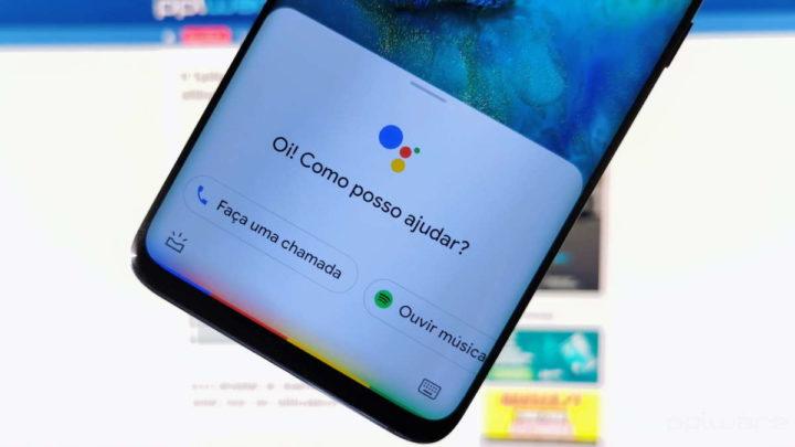 assistente Google Android ecrã bloqueio