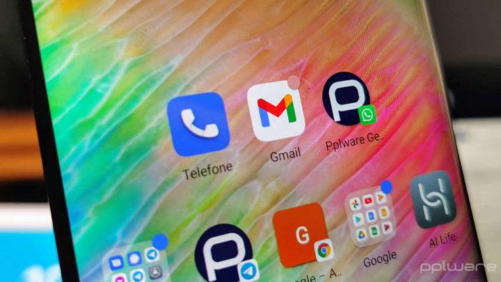 Gmail Google Android emails destinatários