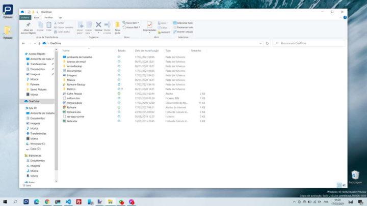 Windows 10 OneDrive Microsoft sincronizar pasta