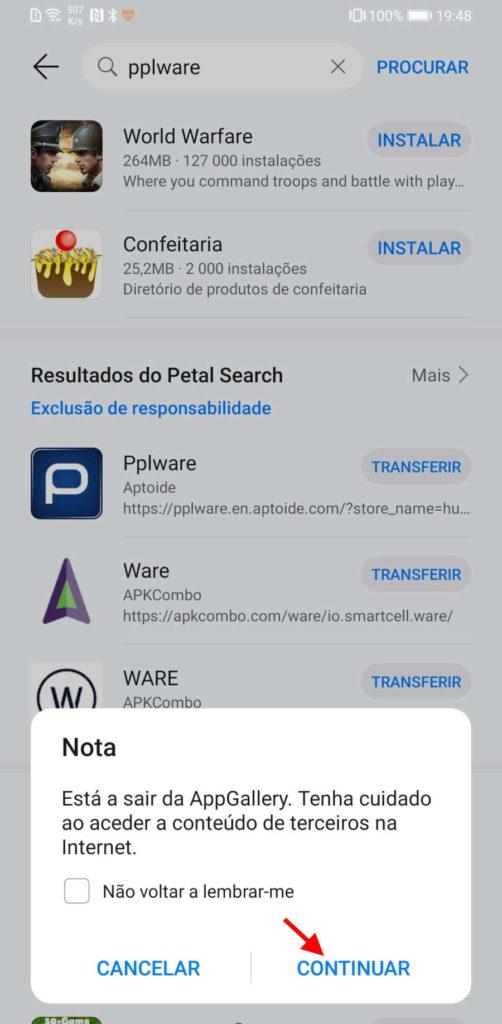 Huawei Petal Search AppGallery apps
