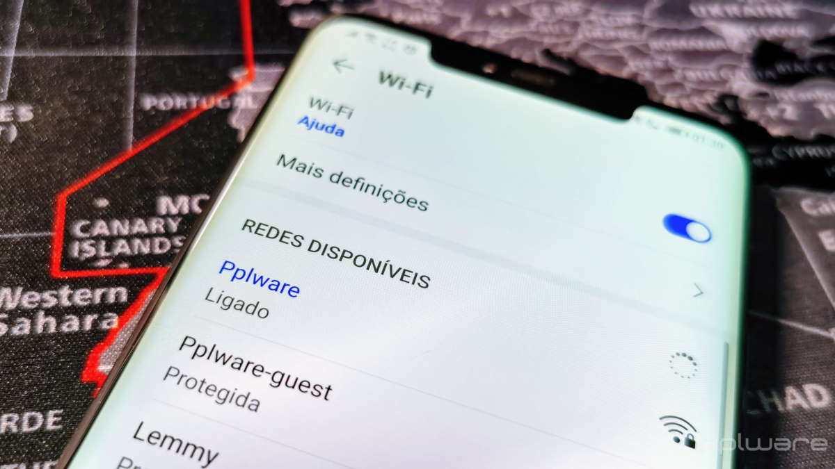 WiFi Android redes utilizadores apps