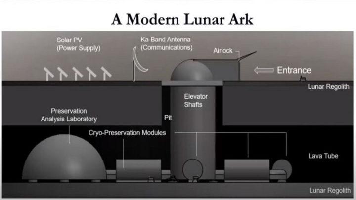 Repositório de células na Lua