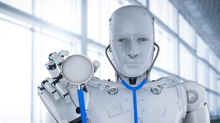 Robôs nos cuidados médicos