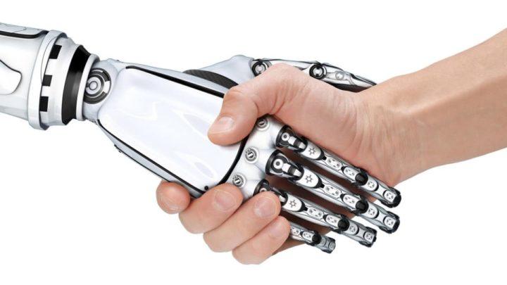 Especialistas e robôs unidos