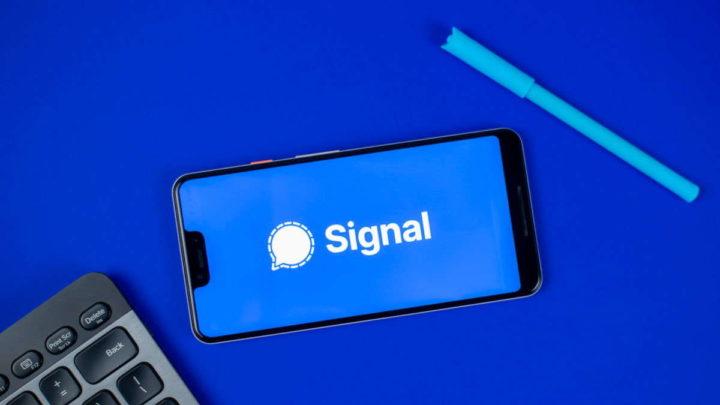 Signal migrar conta smartphone novidade