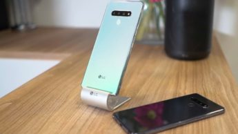 Imagem smartphones LG
