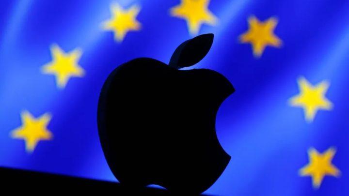 Imagem Apple versus União Europeia