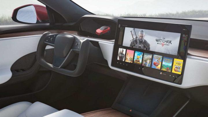Tesla caixa velocidades carro Model S