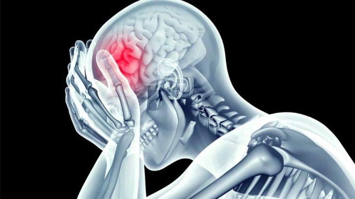 Ilustração vacina para tumor no cérebro