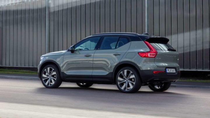 Volvo carros elétricos marca mudança