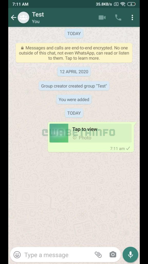 WhatsApp imagens utilizadores proteger partilha