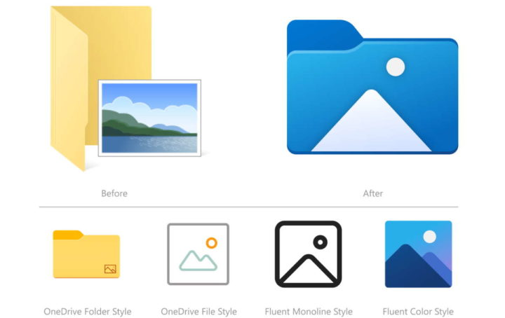 Windows 10 actualiza los archivos de Microsoft Explorer
